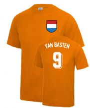 Marco Van Basten Holland Fancy Dress Football T Shirt
